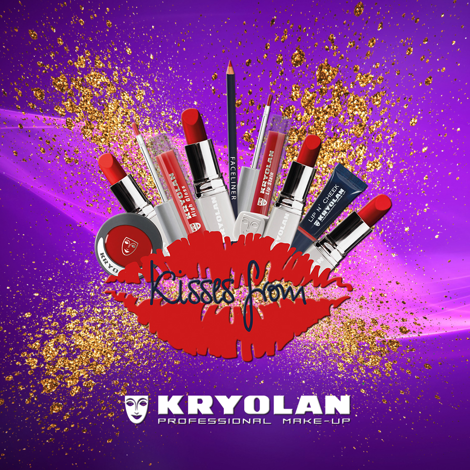 Faschings-Makeup von Kroylan